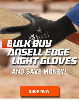 Buy the Brand New Ansell Edge Handling Gloves in Bulk