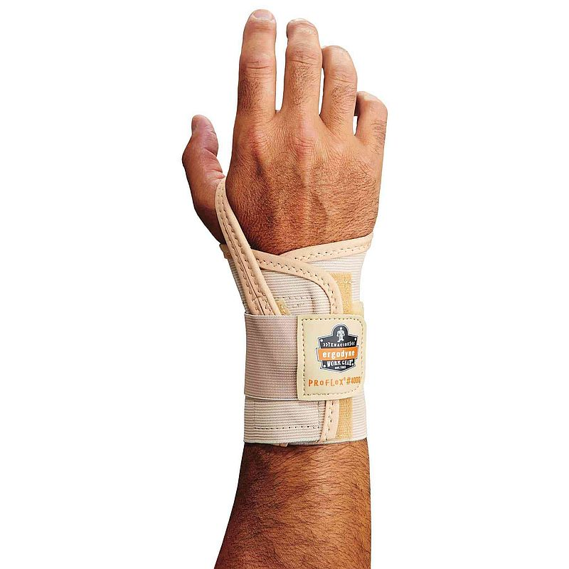Ergodyne ProFlex 4000 Tan Single Strap Wrist Support