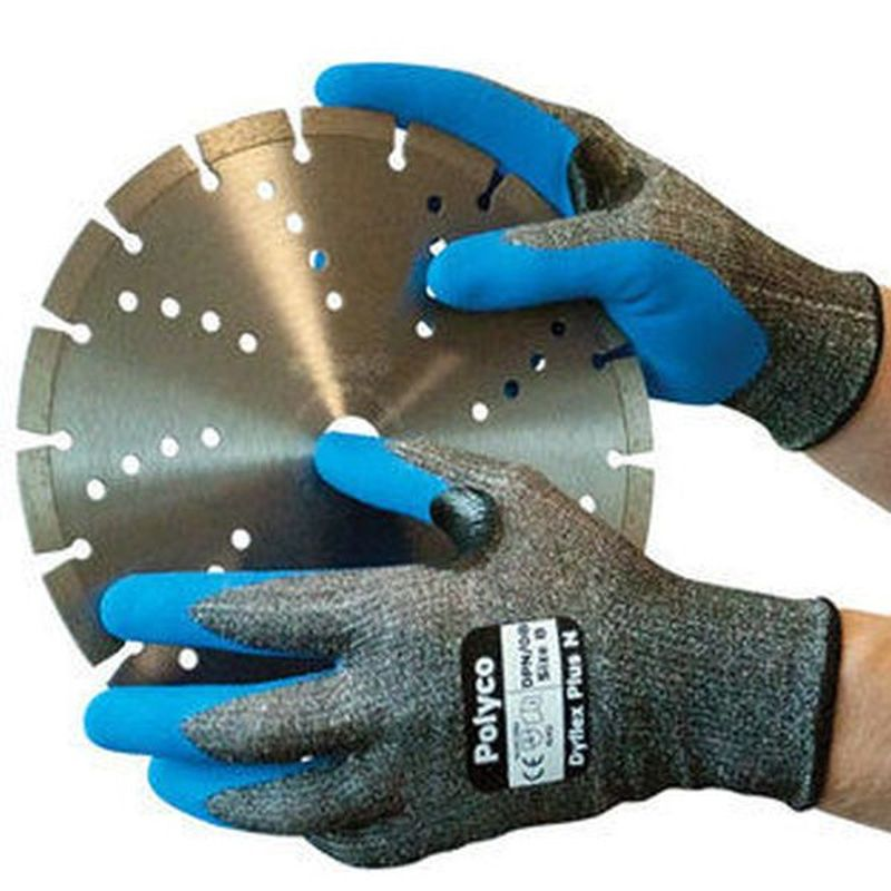 Polyco Dyflex Plus N Cut Nitrile-Coated Cut-Resistant Gloves DPN