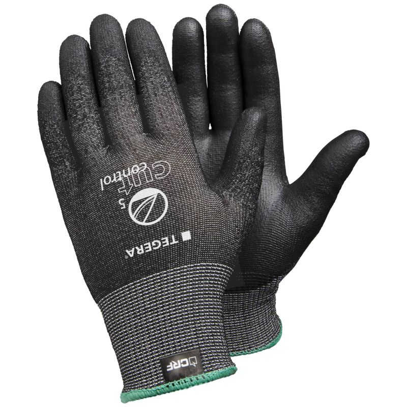 Ejendals Tegera 455 Cut-Resistant PU Palm-Coated Gloves