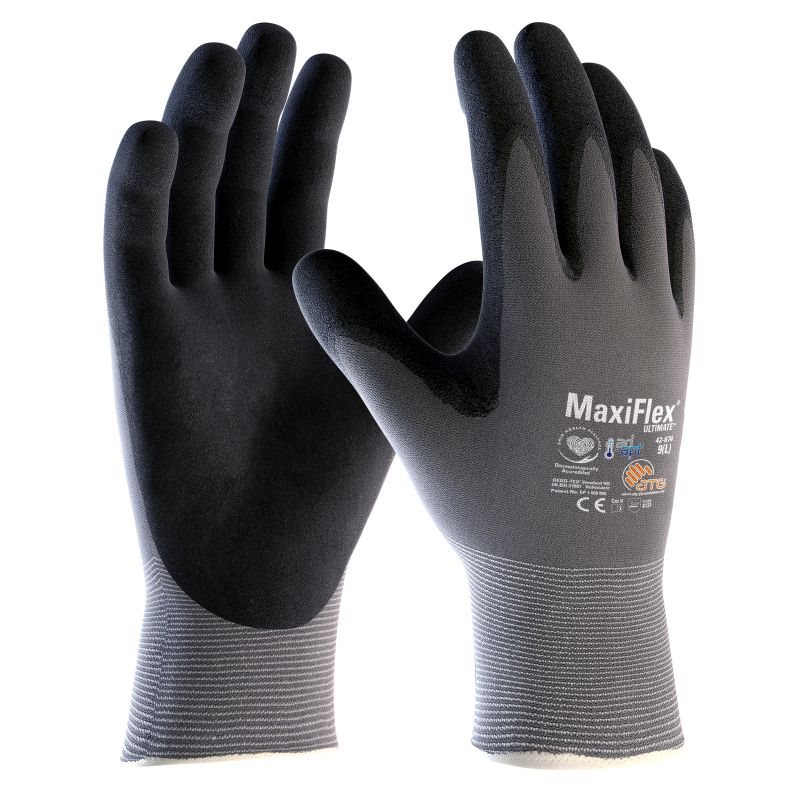 MaxiFlex Ultimate Palm-Coated Handling Gloves 42-874