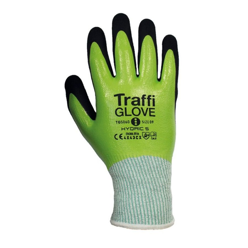 TraffiGlove TG5060 Hydric Cut Level Water-Resistant Gloves