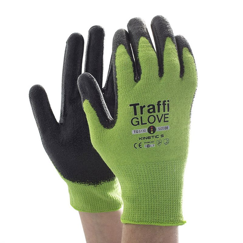 TraffiGlove TG5130 Kinetic Cut Level 5 Heat Resistant Gloves