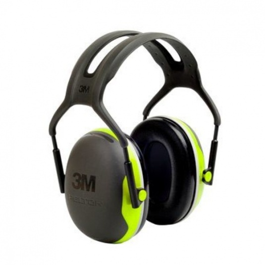 3M PELTOR X4A Over-the-Head Noise-Cancelling Ear Muffs