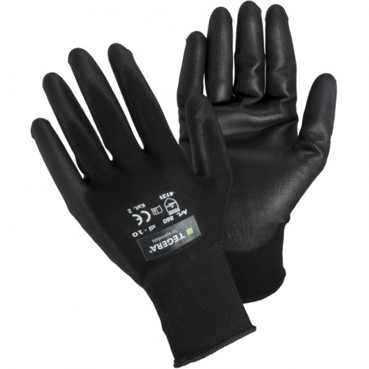 Ejendals Tegera 860 Palm-Dipped Oil-Repellent Gloves
