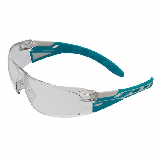 JSP Eiger Blue Lagoon Clear Lens Safety Glasses