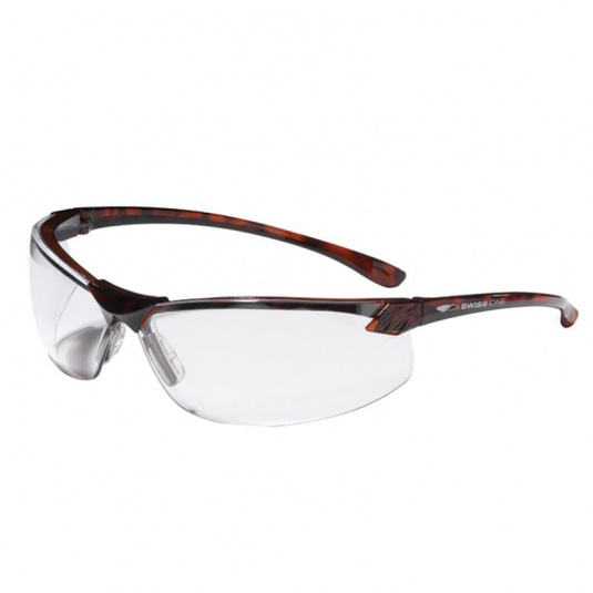 JSP Shamira Clear Tortoiseshell Safety Glasses