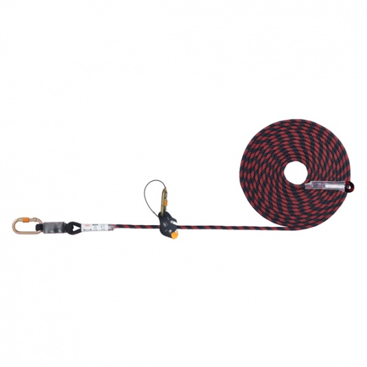 JSP 15 Metre Guided Fall Type Arrester on Flexible Anchor Line