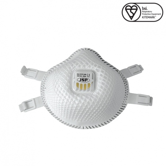 JSP FFP3 Flexinet Disposable Mask with Valve (Box of 5)