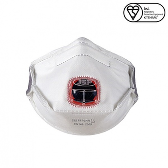 JSP FFP3 Typhoon Fold-Flat Disposable Mask (Box of 10)