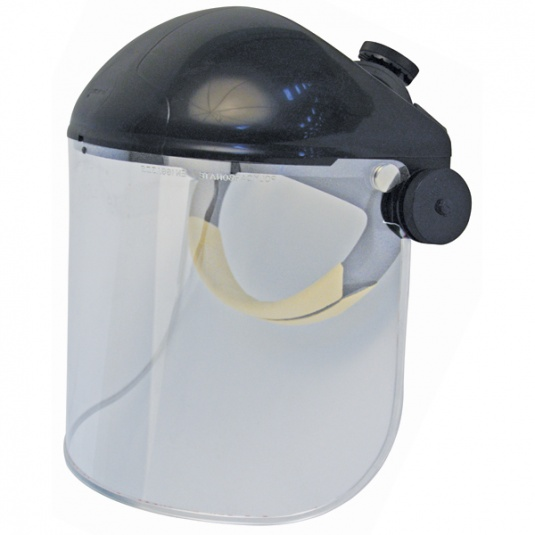 JSP Invincible Face Shield with Polycarbonate Visor