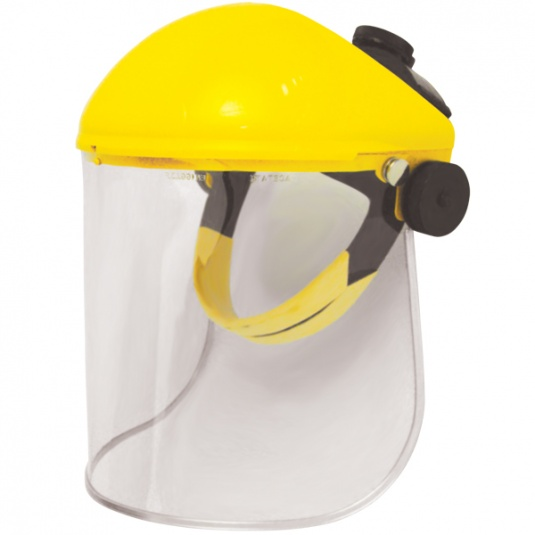 JSP Invincible Face Shield with Acetate Visor