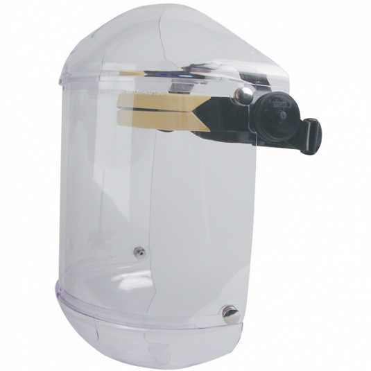JSP Invincible Face Shield with Chinguard and Polycarbonate Visor