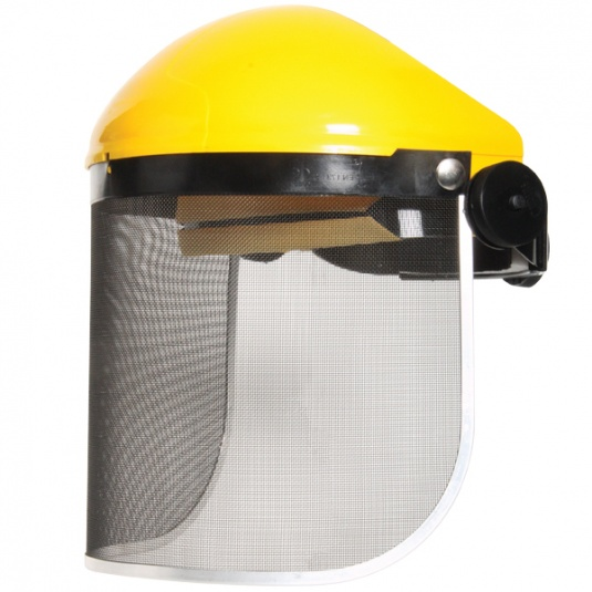 JSP Invincible Face Shield with Wire Gauze Visor