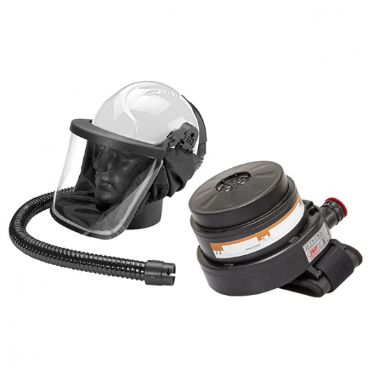 JSP Jetstream Construction Helmet and Respirator Kit with A2PSL Filters