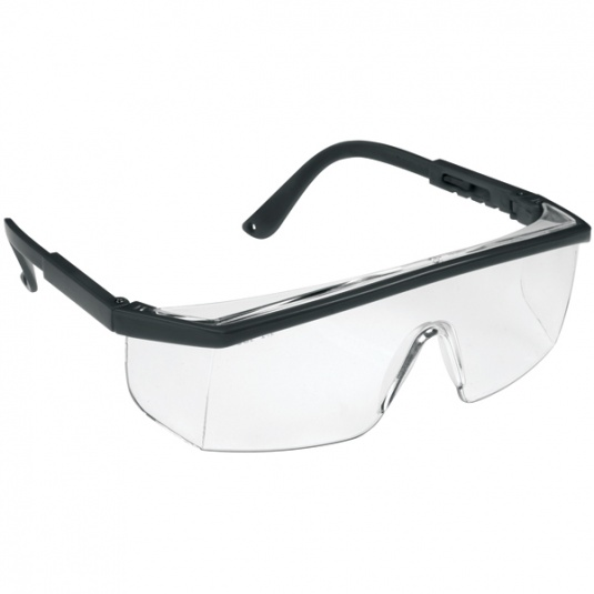 JSP M9100 Clear Wrap Around Safety Glasses