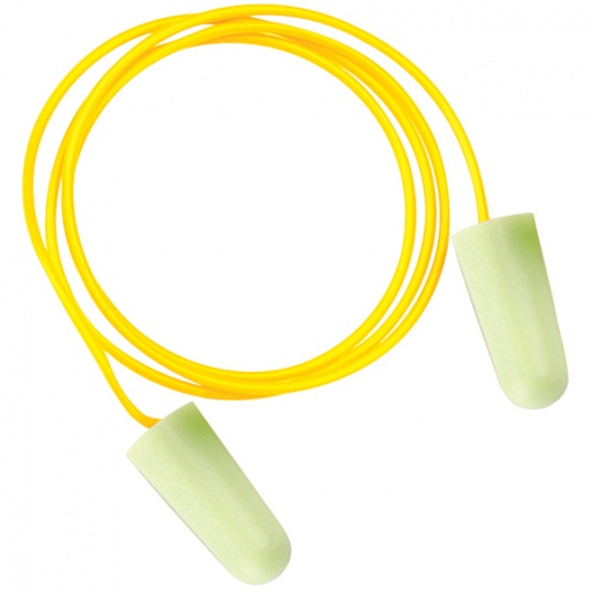 JSP PU Foam Soundstopper Ear Plugs with Cord (100 Pairs)