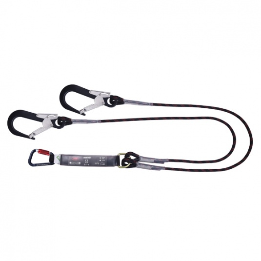 JSP Pioneer Twin Tail Fall Arrest Lanyard