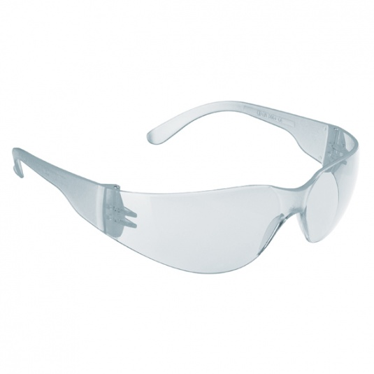 JSP Stealth 7000 Safety Glasses with Clear Anti-Scratch Lens