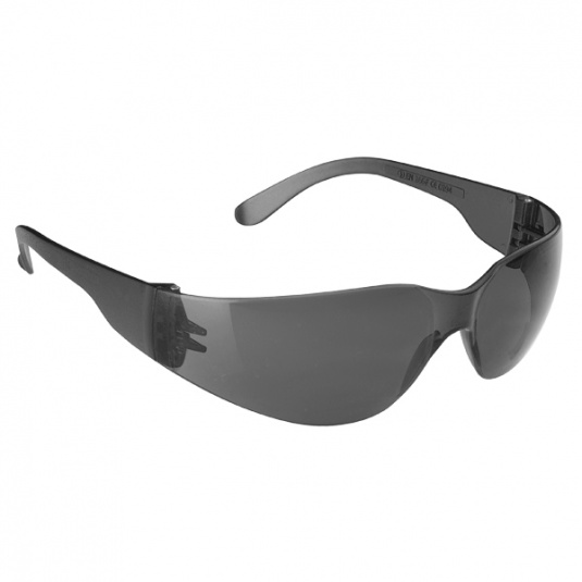 JSP Stealth 7000 Safety Glasses with Smoke Anti-Scratch Lens