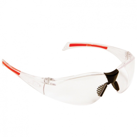 JSP Stealth 8000 Safety Glasses with Clear Anti-Mist Lens