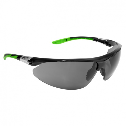 JSP Stealth 9000 Safety Glasses with Smoke Anti-Scratch Polarised Lens