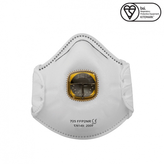 JSP Typhoon FFP2 Disposable Mask with Valve (Box of 10)