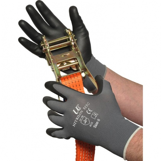UCI Nitrilon NCN-925G Nitrile Palm-Coated Oil Gloves