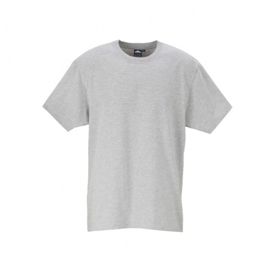 Portwest B195 Grey Cotton Work T-Shirt