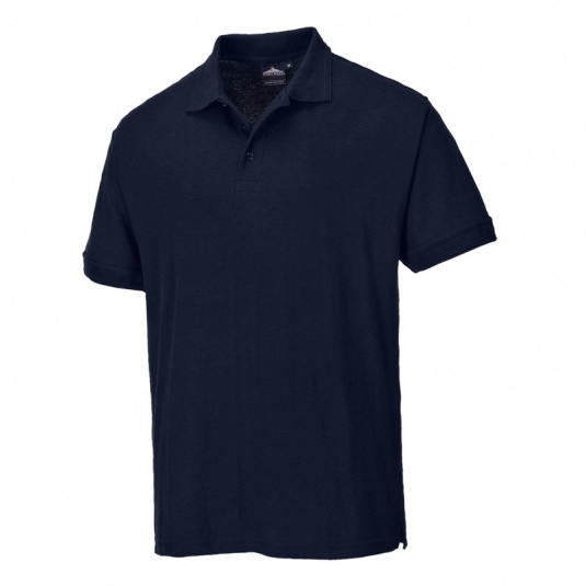 Portwest B210 Dark Navy Work Polo Shirt