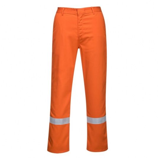 Portwest BZ14 Orange Iona Bizweld Trousers