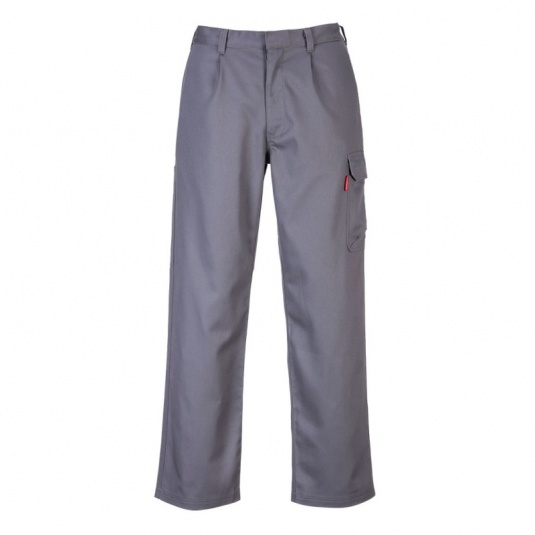 Portwest BZ31 Grey Bizweld Flame Resistant Cargo Pants