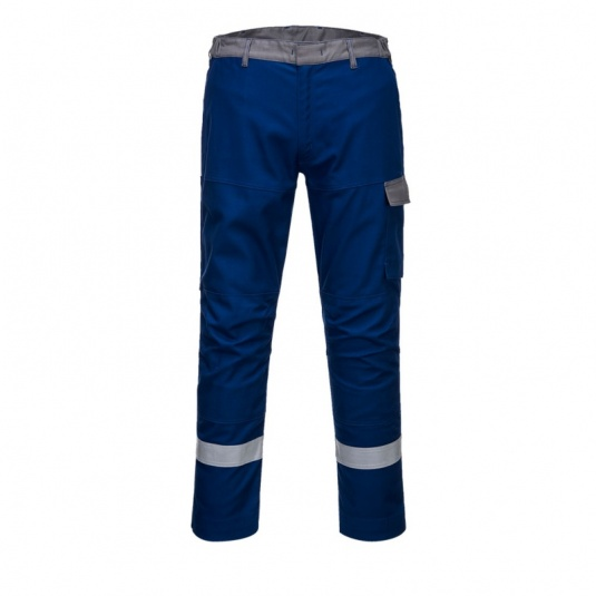 Portwest FR06 Blue Bizflame Ultra Metal Free Trousers