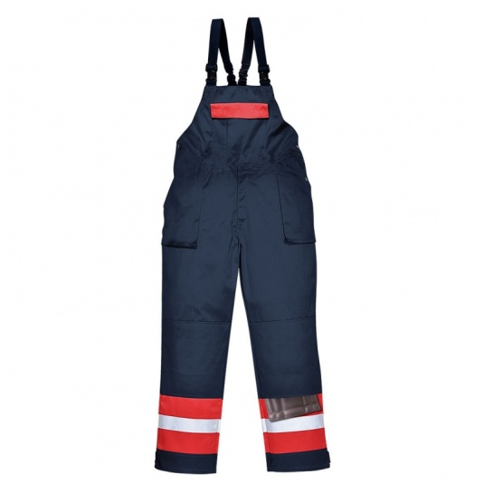 Portwest FR57 Red Bizflame Offshore Overalls