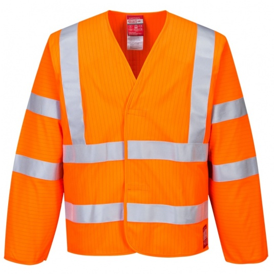 Portwest FR85 Orange Bizflame High-Vis FR Jacket