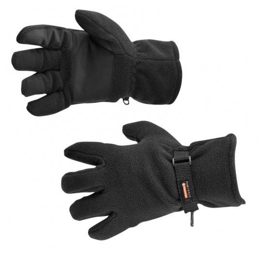 Portwest GL12 Black Fleece Insulatex Lined Gloves