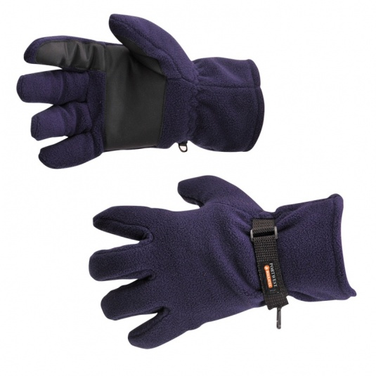 Portwest GL12 Navy Insulatex-Lined Fleece Gloves