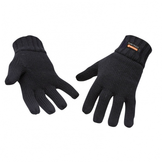 Portwest GL13 Black Insulatex-Lined Gloves