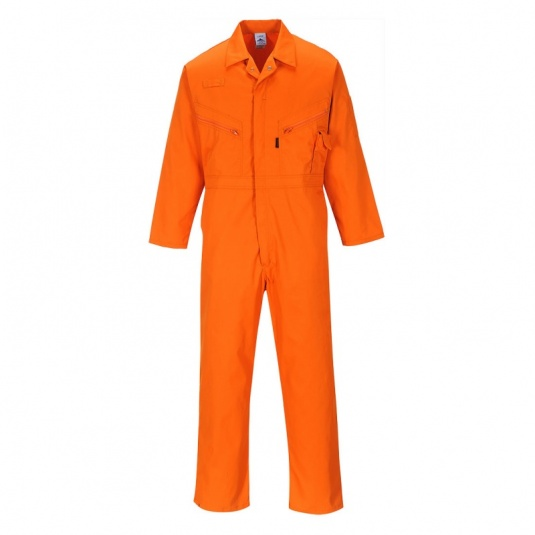 Portwest C813 Orange All-Purpose Coveralls