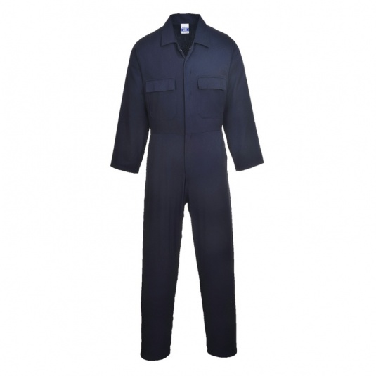 Portwest S998 Navy Cotton Work Coveralls