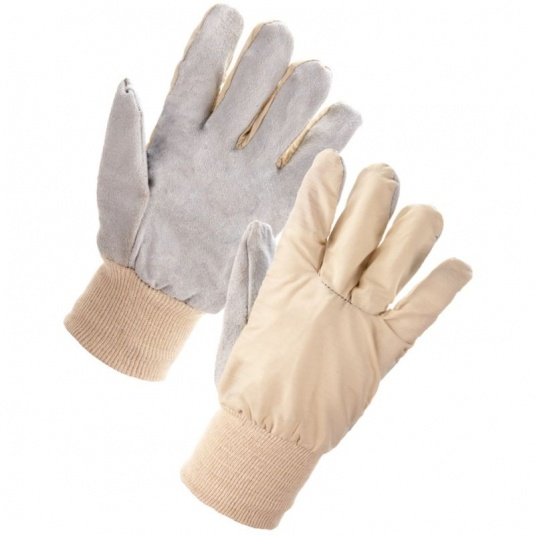 Supertouch Cotton Chrome Gloves - Straight Thumb 26003