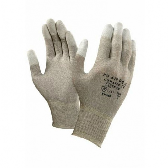 Ansell Comasec PU610 DG Anti-Static Assembly Gloves