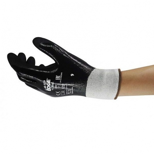 Ansell Edge 48-929 Double Nitrile Cut-Resistant Gloves