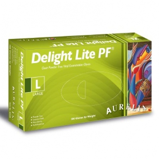 Aurelia Delight Lite 32226-9 Vinyl Skin Tight Medical Gloves