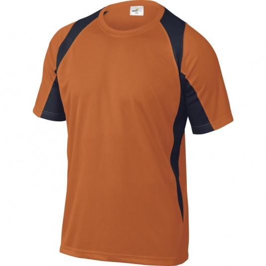 Delta Plus BALI Polyester Blue and Orange T-Shirt