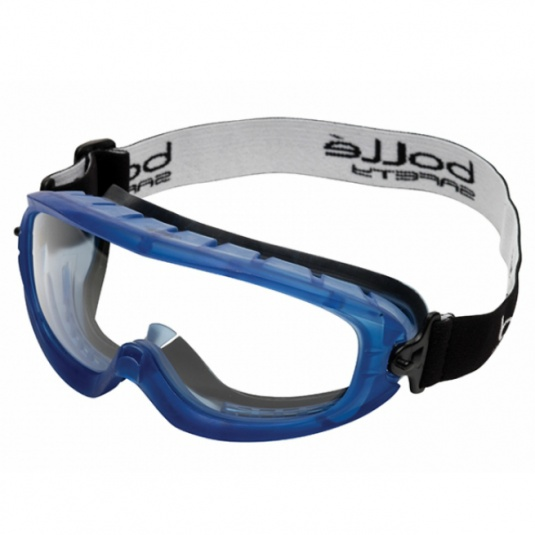 Bollé Atom Panoramic Safety Goggles with Foam Edge ATOFAPSI