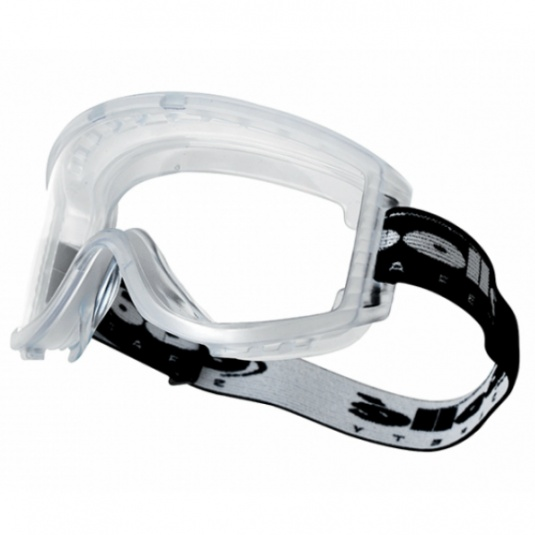 Bollé Attack Clear Safety Goggles with Strap ATPSI