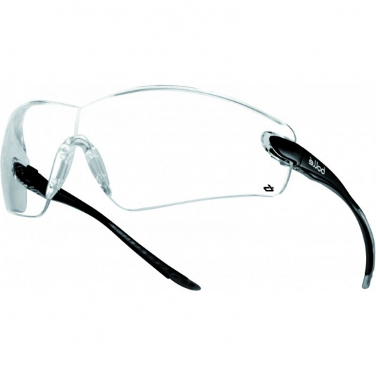 Bollé Cobra Clear Wraparound Safety Glasses COBPSI