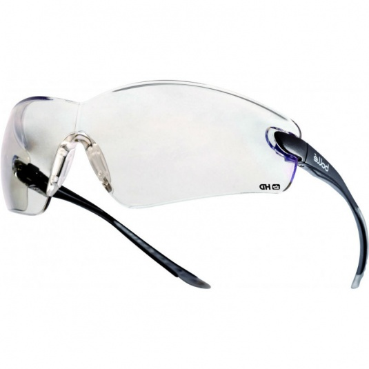 Bollé Cobra HD Hydrophobe Clear Safety Glasses COBHDPI