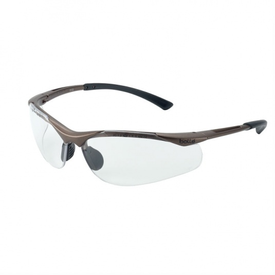 Bollé Contour Clear Panoramic Safety Glasses CONTPSI